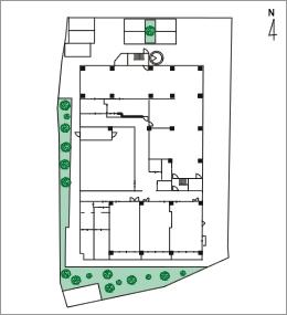 全体地図および1階平面図